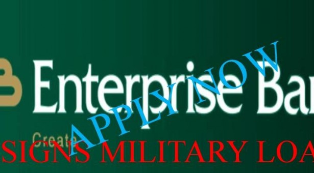 ENTERPRISE BANK DESIGNS LOAN SCHEME FOR MILITARY OFFICERS