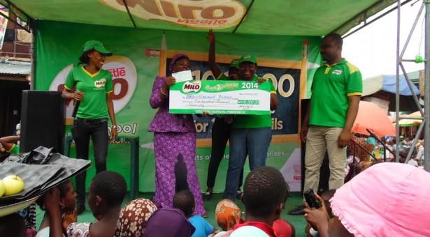 Nestle Nigeria rewards winners of its MILO Back to School Promo