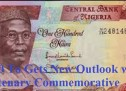 Centenary Commemorative N100 note to be unveil by the President