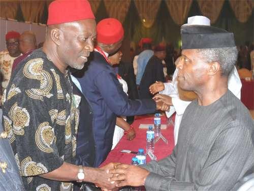 Ohanaeze reacts as Arewa youths ask Osinbajo to facilitate Igbo exit