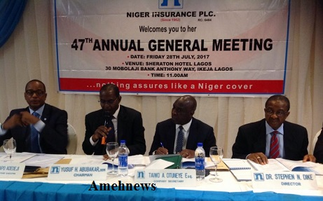 Niger Insurance Gross Premium hits N5.9bn while assets base up 7% to close on N22.5bn