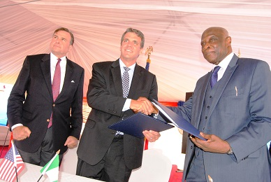 Grant Signing Ceremony Between USTDA and Eko Petrochem and Refining Company Limited/Official Presentation of Tomaro Industrial Park