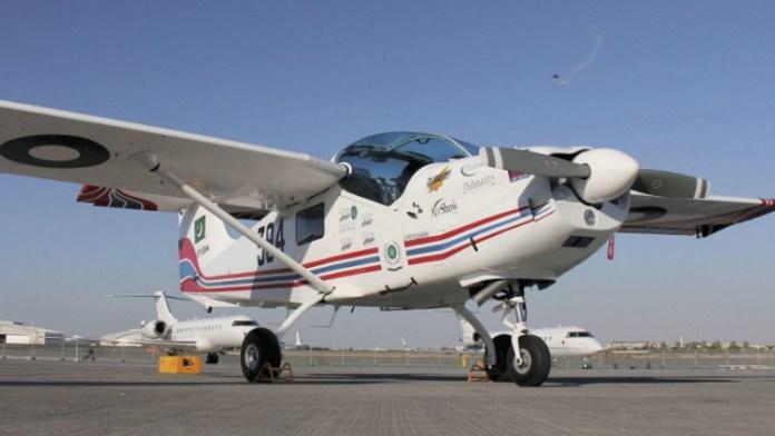 Nigeria unveils Super Mushshak trainer aircraft