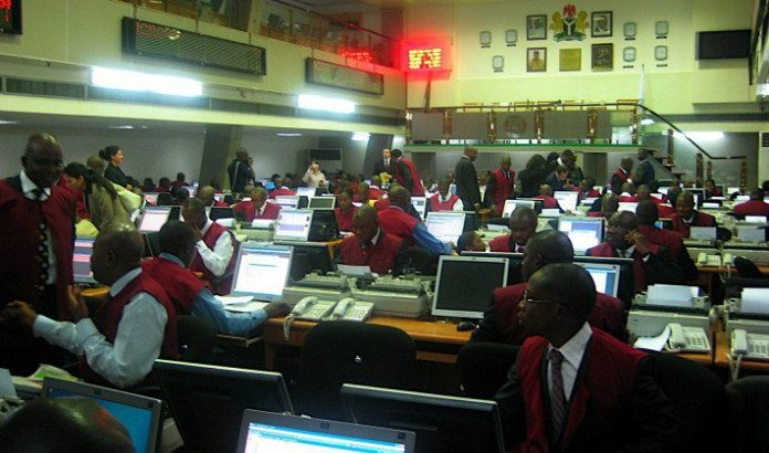 Stock Exchange market capitalisation drops to N12tnThe Nigerian Stock Exchange's market capitalisation has further declined, falling from the 13 trillion Naira mark attained early this month.  The market capitalisation dropped by 295 billion Naira or 2.25 percent from 13,081 trillion Naira to close at 12,786 trillion Naira.  The All-Share index, though still within the 37 thousand basis points range, also dropped by 2.25 percent or 854.36 basis points to close at 37,096.60 basis points from 37,950.96 basis points.  There was however a 1,172 increase in number of deals from yesterday's 4,113 deals, raising the total number of today's deals to 5,285 deals.  And the number of shares exchanged was 391 million shares worth 5.4 billion Naira as against yesterday's 3.16 million shares worth 4.22 billion Naira.  The fall in today's market activities also translated to the number of stocks that either gained or fell as only 11 stocks appreciated, 35 depreciated while others closed flat.  Gainers GLAXO SMITHKLINE CONSUMER NIG. PLC topped the gainers' chart by N1.00 or 5.00 per cent to close at N21.00 per share compared to the opening price of N20.00 per share.  BERGER PAINTS PLC which opened at N6.80 per share, closed today at N7.14 per share, gaining 0.34 kobo or 5.00 percent.  GOLDEN GUINEA BREW. PLC opened at 0.85 kobo per share and closed at 0.89 kobo per share, gaining 0.04 kobo or 4.71 percent.  Losers MORISON INDUSTRIES PLC led the pack by 0.08 kobo or 8.16 percent, to close at 0.90 kobo per share as against its opening price of 0.98 kobo per share.  P Z CUSSONS NIGERIA PLC haven opened transactions at N27.00 per share, closed at N25.65 per share, depreciating by N1.35 or 5.00 percent.  Then STANBIC IBTC HOLDINGS PLC which had an opening price of N41.00 per share, closed transactions at N38.95 per share, losing N2.05 or 5.00 percent.