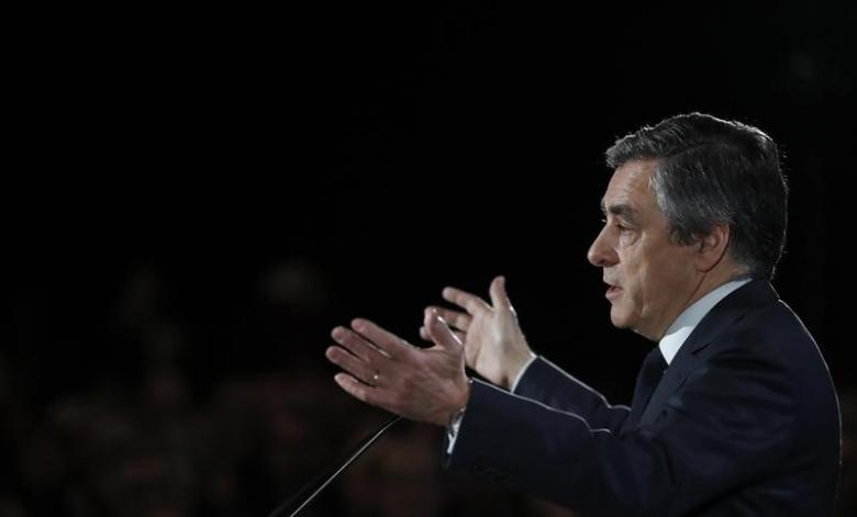 France's Fillon under pressure to quit presidential bid as fake work row rages
