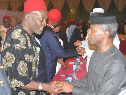 Ohanaeze reacts as Arewa youths ask Osinbajo to facilitate Igbo exit