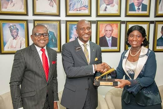 AFRICA PRUDENTIAL AWARDED BEST REGISTRAR IN WEST AFRICA; Unveils new Corporate Identity