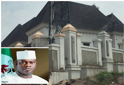 Bello, Kogi Governor's builds new mansion in Okene