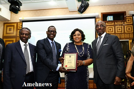 Dr. Taiwo Afolabi, Group Executive Vice Chairman, SIFAX Group receives Institute of Director Fellowship award