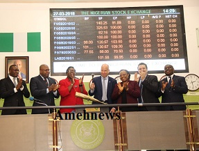 NSE COMMENDS NIGERIAN BREWERIES AS NEW MANAGING DIRECTOR VISITS LAGOS FLOOR