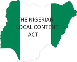 Oil firm says local content Act opening fresh opportunities for Nigeria companies