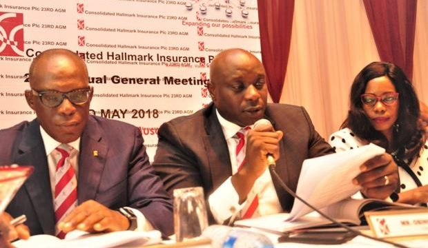 Consolidated Hallmark Insurance Records Total Assets of N9.5bn from N7.44 billion in 2016