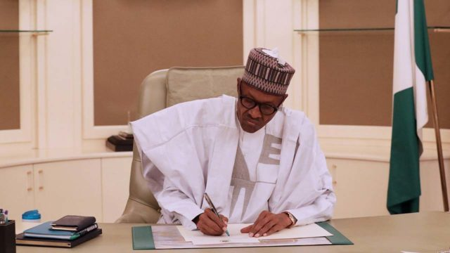 Buhari signs 2019 budget today