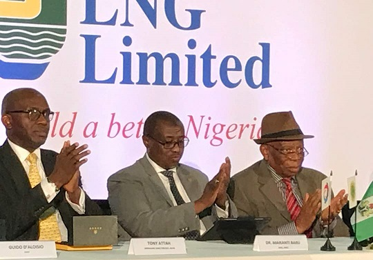 NNPC, Other Stakeholders Sign NLNG Train-7 Engineering