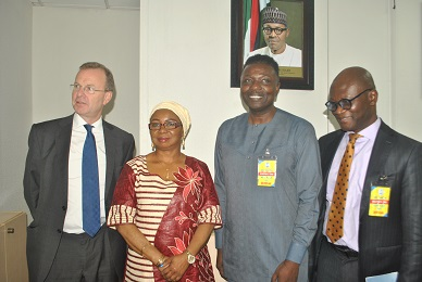 SEC DG Receives Delegations from Mercer Financial Services Middle East Limited in Abuja