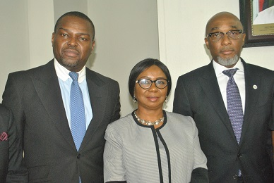 Acting Director General,  SEC held with Association of Issuing House of Nigeria