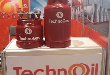 Techno Oil showcase made-in-Nigeria cylinders at World LPG Forum, USA