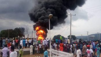 NNPC Moves to Contain Oil Pipeline Fire Outbreak at Osisioma, Near Aba