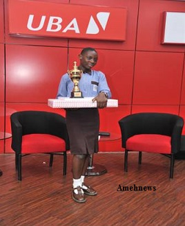 Odjegba Divine Win 2018UBA Foundation's National Essay Competition