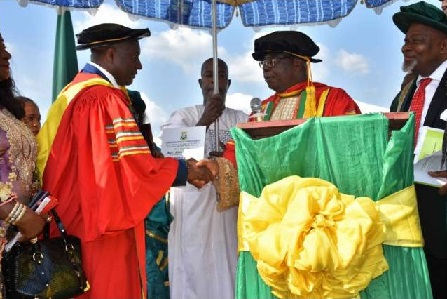 Air Peace Boss Seeks to set up the Nonviolence and Peace Studies Centre, Donates N70m to Anambra Varsity's