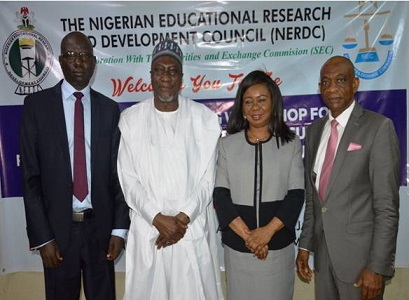 Development of Capital Market Studies curriculum to boost Investor Education- SEC