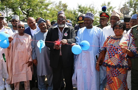 FG COMMISSIONS RADIO FREQUENCY MONITORING EQUIPMENT & NATIONAL CONTROL CENTRE.
