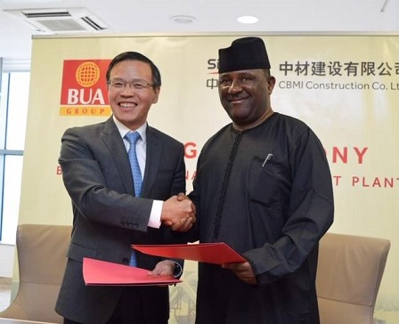 BUA Partners CBMI to increase its' total installed capacity to 11million MTPA in Sokoto