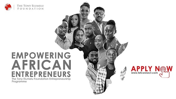 TONY ELUMELU FOUNDATION EMPOWERs 50 BENINESE ENTREPRENEURS