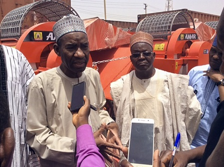 FMAN reiterates its commitment to the development ofthe wheat value chain in Nigeria; donates 50 Units of Threshers to Wheat Farmers.