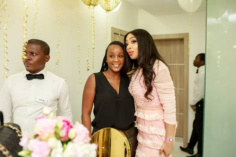 Pix 2: Psychologist, Chief Executive Officer and Founder, The Alex Okanlawon Foundation, Dr. Jessica Okanlawon and Chief Executive Officer and Founder, GLOW Health Enterprise, Adanna Monde at the official launch of GLOW Health in Lagos, recently