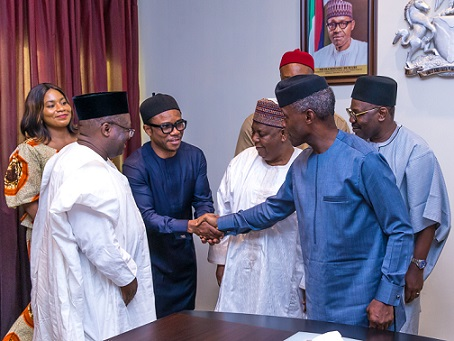Outstanding ₦5trillion AMCON Debt: FG To Deal With Debtors – Vice President