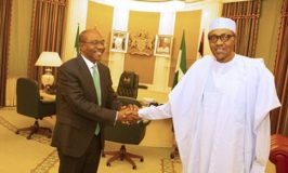 Buhari Congratulates Emefiele On Re-Appointment