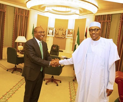 Buhari Congratulates Emefiele On Re-Appointment