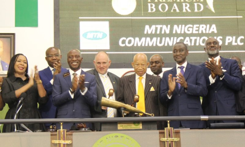 NSE Admits MTN Nigeria Communications Plc to its Premium Board