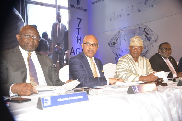 Shareholders Commend First bank, other subsidiaries as FBN Holdings pay 26k per share dividend