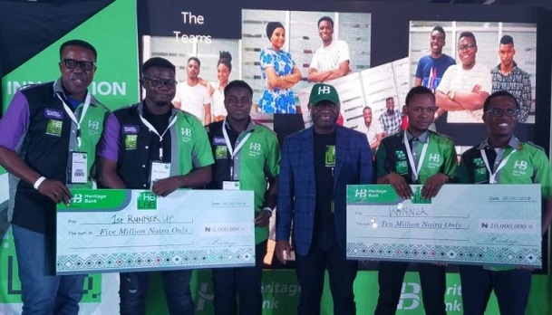 Heritage Bank empowers winners of the HB Innovative Lab maiden edition with $40,000 grants