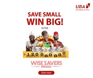 UBA wise savers promo