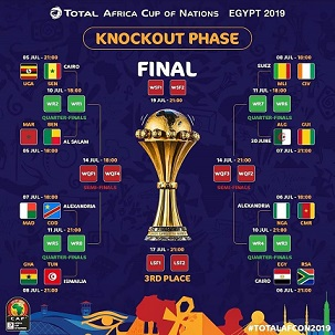 AFCON 2019:3rd place playoff& Final Matches Take Centre Stage On SuperSport