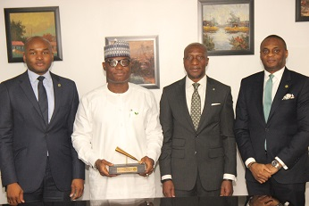 Forte Oil Plc new Board/Management Team of the company perform Closing Gong Ceremony at NSE