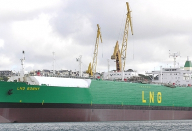 Nigeria accounts over 50 percent LNG production capacity in Africa