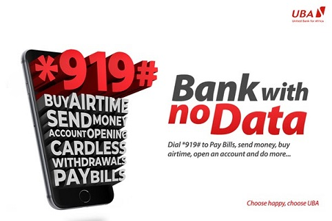 UBA bank witn no data