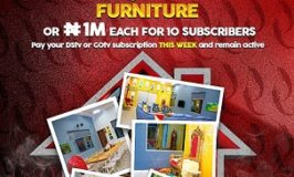 DStv and GOtv Customers to Win ALL BBNaija Pepper Dem Furniture or N1m Cash Prize this Week!