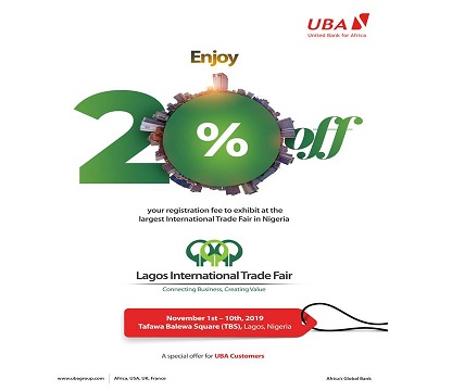 2019 Lagos International Trade Fair promo