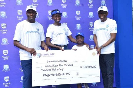 Stanbic IBTC Provides Succour For Limbless Children Through Together4ALimb Initiative