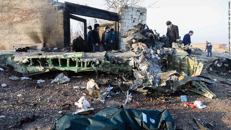Iran apologises for 'mistakenly' shooting down Ukrainian plane