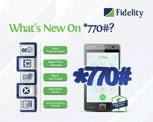 Fidelity Bank Advert