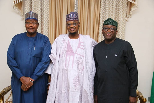 Photo News: Pantami, Danbatta Meet Fayemi Over RoW Charges
