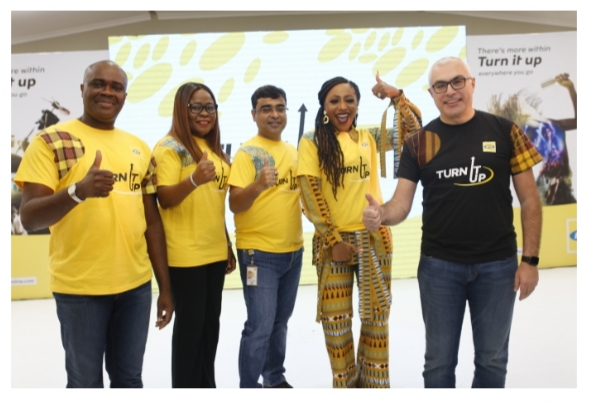 MTN Initiates 'Turn It Up' Campaign To Encourage Nigerians Into New Technologies And Tools