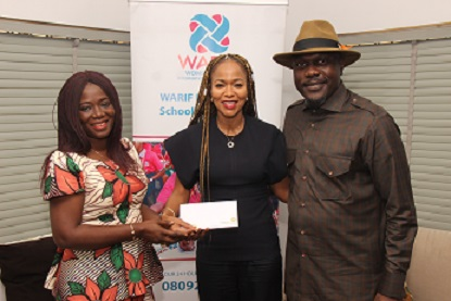 Photo News: NSE Employee Donates To Women at Risk International Foundation Centre