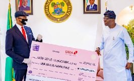 COVID-19: UBA Presents N1billion to Lagos State, Applauds Govt Effort to Fight Pandemic